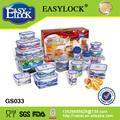 Conjunto:Hay contenedores de plástico certificado por la FDA:PP y libre de BPA