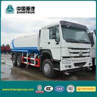 SINOTRUK HOWO 6x4 water tanker truck howo truck