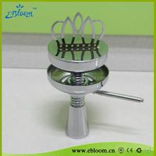 August Promotion!! 2015 Booming sale shisha accessories minzari crown bowl hookah shisha ss charcoal holder
