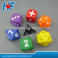 Hot sales cheaper Promotional PU cube stress ball/ pu dice foam anti stress ball
