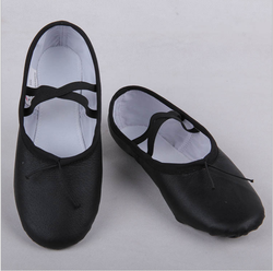 Women New Leather Soft Girls Ballerina Dancing Lady ballet DanceShoes