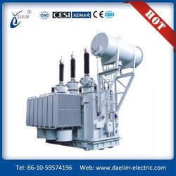 Top Value 220kv Three Phase Double Winding On Load Power Transformer