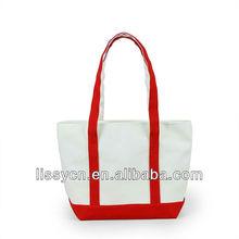 2013 eco-friendly 5 color canvas tote bag