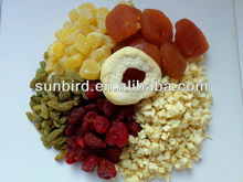 New Crop Mixed dried fruit/dry fruits /strawberry/raisin/pineapple/apple rings