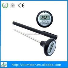Waterproof beef/steak/milk/food probe temperature meter