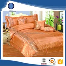 2015 luxury wholesale new satin bedding set comforter