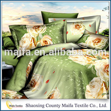 Hot selling China Manufacturer Cheap Soft grid print bedding set/bed cover