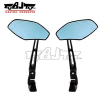 BJ-RM-037 custom black motorcycle mirrors for chopper