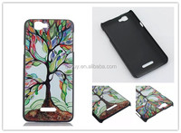 On sale cheapest Fashion Personality Lucky tree hard back cover case for Wiko Rainbow 10 Styles
