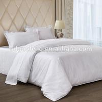 100% cotton 40*40 110*90 280CM cheap bed sheet, Satin Stripe/Jacquard/Plain flat sheet/fitted sheet/duvet cover/hotel bedding