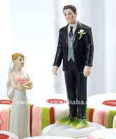 Almost Perfect Frog Prince Wedding Couple Figurine