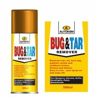 bug and tar remover pitch cleaner stain and grime reomvoer spray for car care
