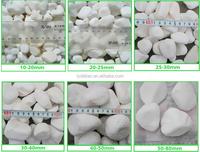 Decoration marble cobblestones for sale