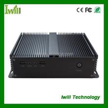 Cheap IBOX-D2550A mini itx aluminum case industrial PC