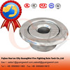 Escutcheon recessed plate fire sprinkler parts