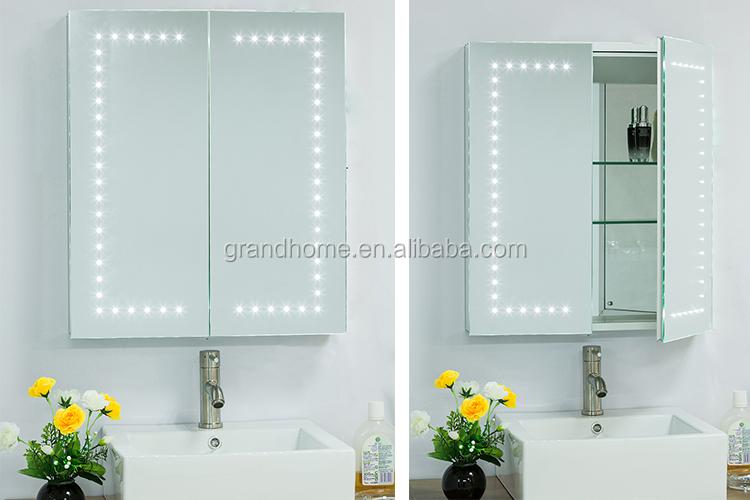 Goedkope badkamerspiegel eigentijdse badkamer spiegel koop goedkope balvi badkamerspiegel met - Eigentijdse designkast ...