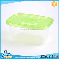 Heat resistant large capacity disposable microwave plastic lunch box