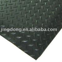 Diamond Tread Pattern rubber car mats, rubber floor mats