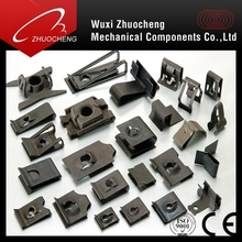 High quality steel U Clip Nut for auto parts with ISO certification