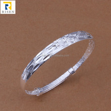 body jewelry sunshine flower silver bangle bracelet B190