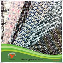 customize fancy tweed fabric for women fancy dress