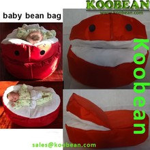 Fashion baby bean bag chair with harness, baby bean bag bed, LOVELY baby bean bag