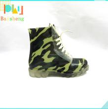 PVC Camo Matin Rain Boots