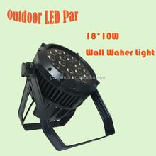 waterproof 18*10w led par light