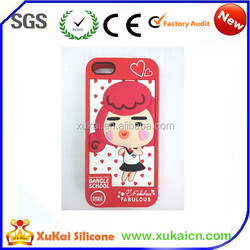 animals design silicone mobile phone case