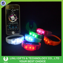 Party Events Decoration Led Flashing Wristbands For Promotion