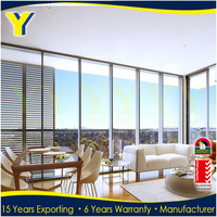 Comply with Australian standard as2047 For Aluminum Frame Fixed Glass Windows