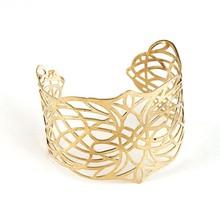 2015 china hematite jewelry , round shaped gold color iron bangle SZ-005