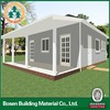 steel prefabricated villa/prefabricated fiberglass houses and villas