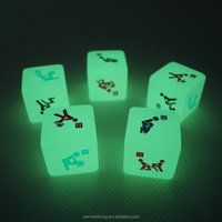 hot sale sex new product glowing dice sexing girl and boy