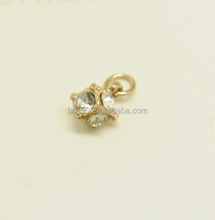 Promotional metal rhinestone lingerie accessories for garment/clothing