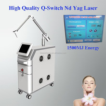 High Quality Q-switch Nd Yag Laser Tattoo Removal and Skin Tanning Beauty Equipment