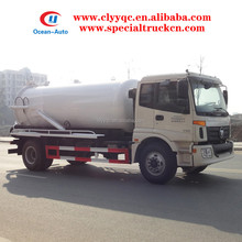 BJ5163ELFFD Foton 10cbm sewage vacuum truck golden supplier in China