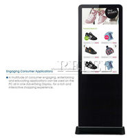 32 inch digital signage kiosk for hotel/supermarket/shopping mall/metro/show room )