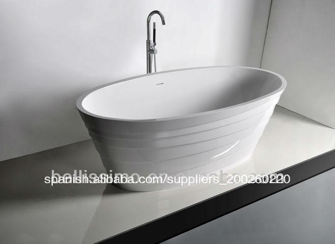 Tinas De Baño De Piedra:La bañera antigua, resina piedra tina de baño bs-8631-Baño
