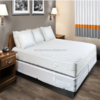 High Quality Microfiber Mattress Encasement / Protector - Waterproof, Bed Bug Proof Zippered Protection