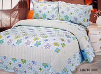 2014 new design wholesale 100%cotton patchwork printing bedding set/bed sheet/duvet cover/pillow