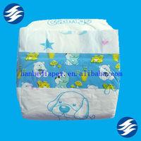 Hot Sale Printed PE Film Baby Joy Diapers