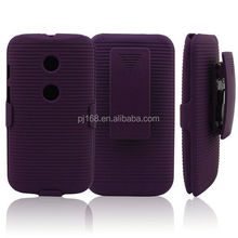 new product hard case holster kickstand belt clip case for Blackberry Style 9670