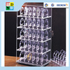 high quality clear acrylic storage rack for watch/custom design acrylic display shelf for watch shop use China made
