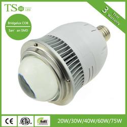 Aluminum Alloy outdoor lamp 20w 30w 40w 60w 70w industrial high bay led light