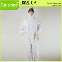 Anti static Grid Button suits /cleanroom garment/esd garment many kind collar