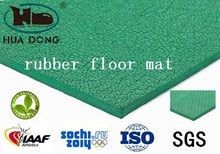all weather indoor green tennis rubber running track surface