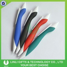 School Use Eco-friendly Logo Custom Rubber Pen