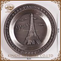hot sale low price Paris souvenir country fridge magnets