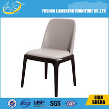 Foshan solid wood pu leather dining room furniture dining chair-#DC012-M3